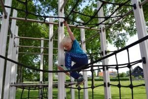 Motionssti ved Lindehøjskolen i Herlev